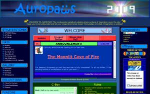 Auropaws on Freehostia