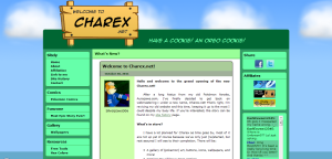 Charex.net v2.0 Day Layout