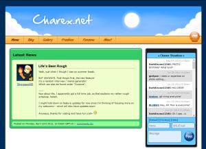 Charex.net v3.0 Layout