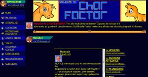 Char Factor on Tripod