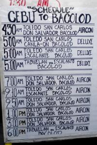 Trip Schedules